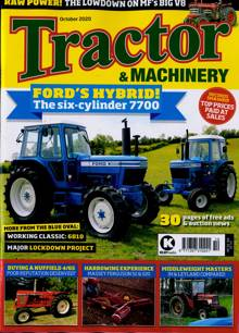 Tractor And Machinery Magazine OCT 20 Order Online