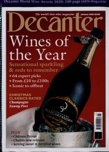 Decanter Magazine JAN 21 Order Online