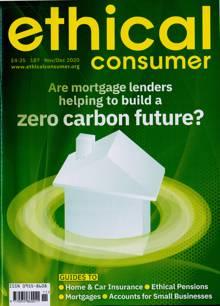 Ethical Consumer Magazine NOV-DEC Order Online