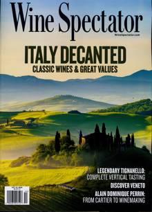 Wine Spectator Magazine OCT 30 Order Online