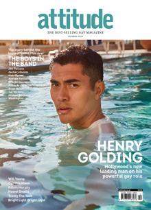 Attitude 327 - Henry Golding Magazine Issue HENRY G