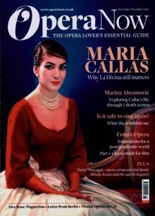 Opera Now Magazine NOV-DEC Order Online