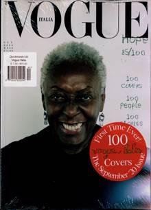 Vogue Italian Magazine Issue NO 840