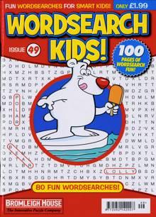 Wordsearch Kids Magazine Issue NO 49