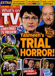 Whats On Tv England Magazine 28/11/2020 Order Online