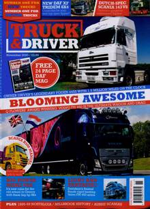 Truck And Driver Magazine NOV 20 Order Online