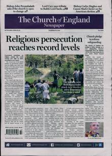 Church Of England Newsp Magazine 20/11/2020 Order Online
