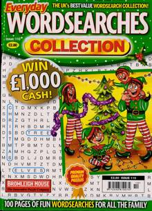 Everyday Wordsearches Coll Magazine Issue NO 110