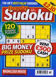 Everyday Sudoku Magazine NO 177 Order Online