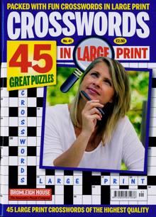 Crosswords In Large Print Magazine NO 41 Order Online