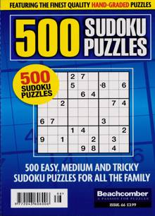 500 Sudoku Puzzles Magazine NO 66 Order Online
