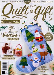 Bz Quilt A Quilt For Christmas Magazine ONE SHOT Order Online
