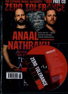 Zero Tolerance Magazine Issue NO 98