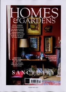Homes And Gardens Magazine FEB 21 Order Online
