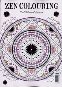 Zen Colouring Magazine Issue NO 48