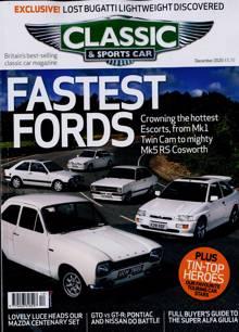 Classic & Sportscar Magazine DEC 20 Order Online