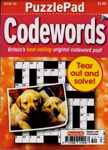 Puzzlelife Ppad Codewords Magazine NO 52 Order Online