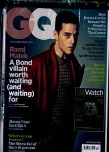 Gq Magazine DEC 20 Order Online