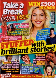 Take A Break Fiction Feast Magazine XMAS 20 Order Online