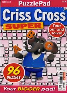 Puzzlelife Criss Cross Super Magazine NO 32 Order Online