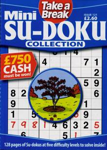 Tab Mini Sudoku Collection Magazine Issue NO 121
