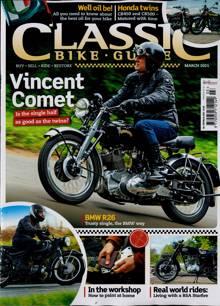 Classic Bike Guide Magazine MAR 21 Order Online