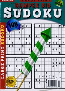 Bumper Big Sudoku Magazine NO 59 Order Online