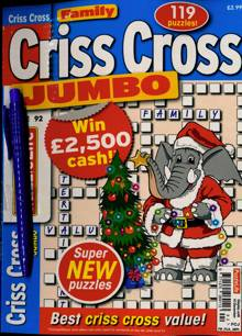 Family Criss Cross Jumbo Magazine NO 92 Order Online