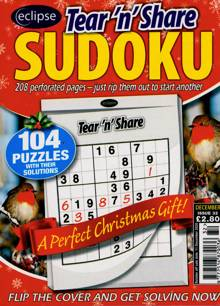 Eclipse Tns Sudoku Magazine NO 32 Order Online