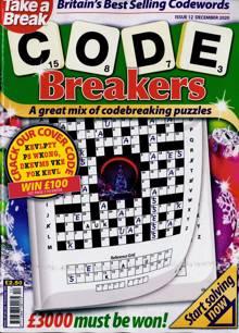 Take A Break Codebreakers Magazine NO 12 Order Online