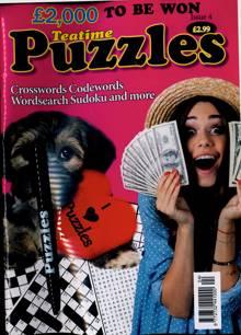 Teatime Puzzles Magazine NO 4 Order Online