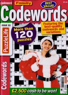 Family Codewords Magazine NO 33 Order Online