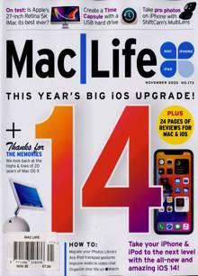 Mac Life Magazine NOV 20 Order Online