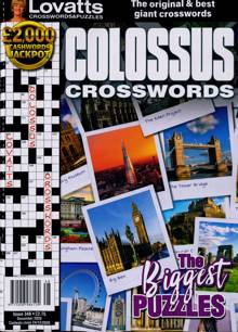 Lovatts Colossus Crossword Magazine NO 348 Order Online