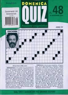 Domenica Quiz Magazine NO 48 Order Online