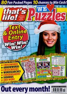 Thats Life We Love Puzzles Magazine NO 19 Order Online