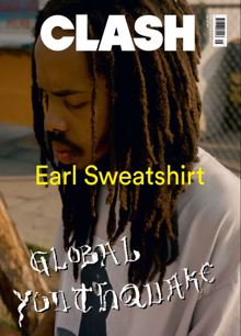 Clash 116 Earl Sweatshirt Magazine Issue 116 Earl