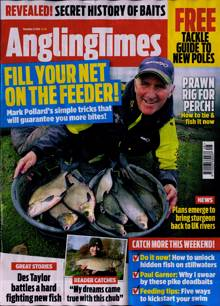 Angling Times Magazine 24/11/2020 Order Online