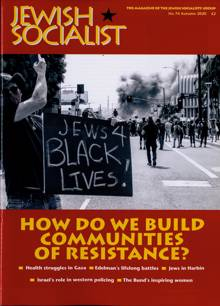 Jewish Socialist Magazine 74 Order Online