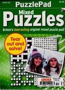 Puzzlelife Ppad Puzzles Magazine NO 52 Order Online