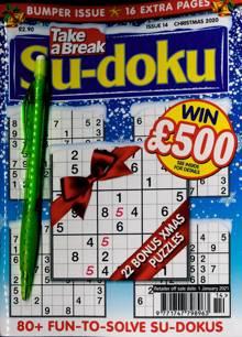 Take A Break Sudoku Magazine NO 14 Order Online