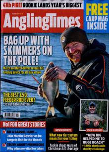 Angling Times Magazine 01/12/2020 Order Online