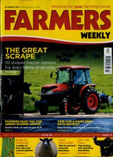 Farmers Weekly Magazine 22/01/2021 Order Online