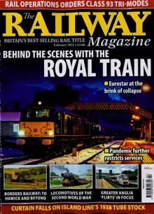 Railway Magazine FEB 21 Order Online