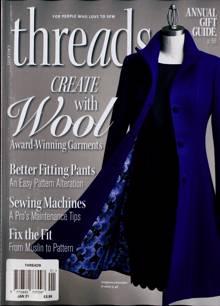 Threads Magazine JAN 21 Order Online