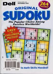 Original Sudoku Magazine NOV 20 Order Online