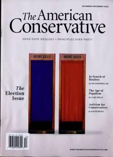 American Conservative Magazine 12 Order Online