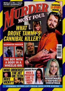 Murder Most Foul Magazine NO 119 Order Online