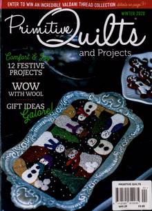 Primitive Quilts Magazine Issue WINTER