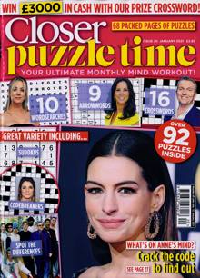 Closer Puzzle Time Magazine N20 JAN21 Order Online